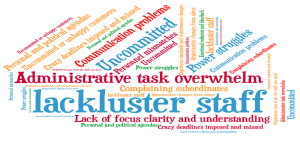 Leadership Probles word cloud 12